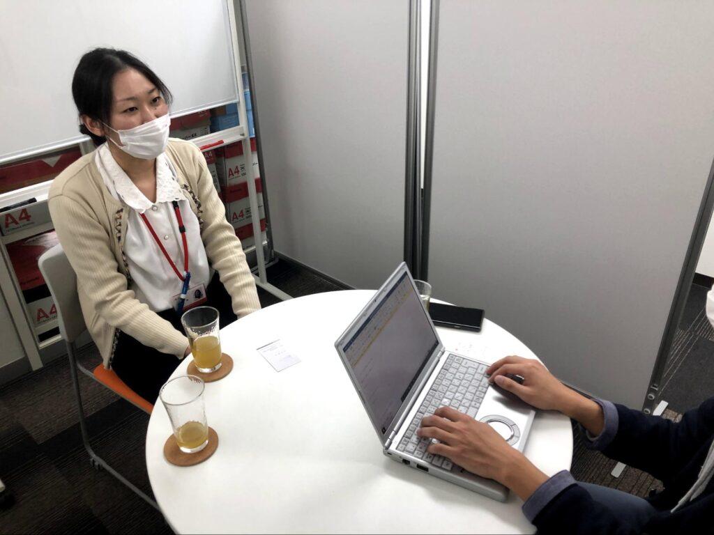 ディーキャリア天王寺の山本さんにインタビュー